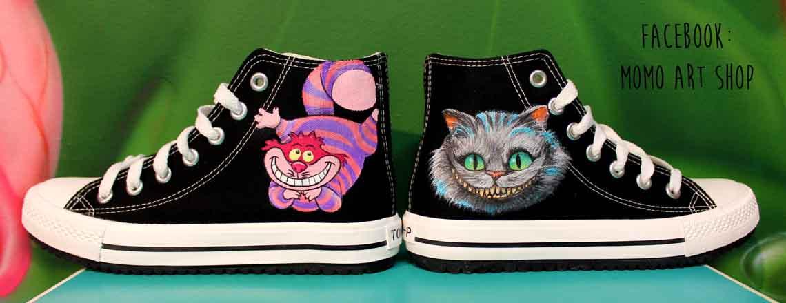 Zapatillas Cheshire - Alicia en el país de las Maravillas - Momo Art ...
